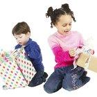 Ideias de presente de aniversário para uma criança de 2 anos