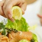 Cómo servir salmón ahumado