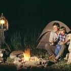Acampar en Trinity River en Texas