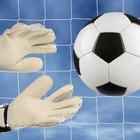 How to repair a latex foam goalkeeping glove