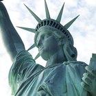 Haz tu propio disfraz de la Estatua de la Libertad