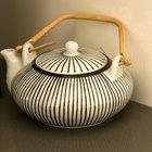 How to paint ceramic teapots