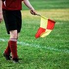Funções de um bandeirinha de futebol