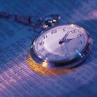 Cómo fijar una manecilla de hora suelta en un reloj de bolsillo de cuarzo