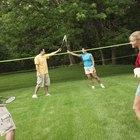 Como montar uma rede de badminton no seu quintal
