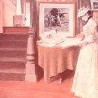 Tipos de telas utilizadas durante la Época Victoriana