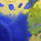 Como remover tinta aquarela