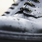 How to Get the White Out of Leather Shoes That Is Caused by Snow & Rain?