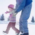 Patinaje sobre hielo al aire libre en Holland, Michigan