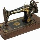 Como pintar uma máquina de costura antiga