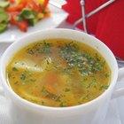 Cómo hacer que la sopa quede espesa