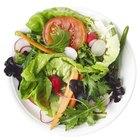 Dieta de proteínas magras y verduras