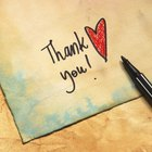 Gold pen in case and thank you card