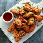 Mouthwatering Chicken Wings with Scallions