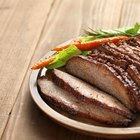 Pork beef with potatoes and carrots