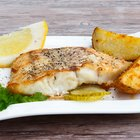 Plate of fish and French fries