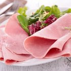 Ham slices