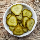 salted or marinated cucumber