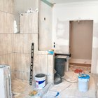 How to Remove & Retile a Bathroom on a Budget