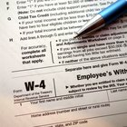 How to Fill Out a W-4 When Filing Taxes Together as Married