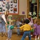 Juegos en círculo para preescolar