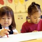 Ideas para educación preescolar con números y colores