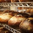 Healthy vegan loaf of bread