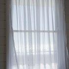 ¿De qué tipo de telas son las cortinas finas?