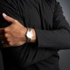 Man repairing wristwatches