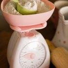 Flour on counter