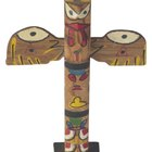 How to make a mini totem pole out of wood