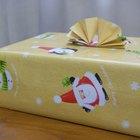 Como medir papel de presente para embrulhar uma caixa
