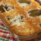 Receta de casserole de chile relleno