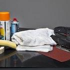Cómo pintar plástico con pintura en aerosol