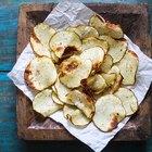 Cómo hacer papas fritas saludables y crujientes