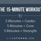 A Do-Anywhere, 15-Minute Fat-Blasting Workout