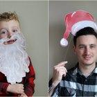 Utilería imprimible para las fotos navideñas que puedes hacer por tu mismo
