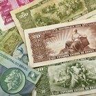 Como vender cédulas de dinheiro antigas