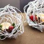 Estas bolas de ramas de sauce llorón son la decoración perfecta para la Navidad