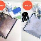 Como remover manchas de panelas e assadeiras