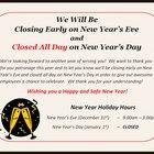 Como postar um aviso de fechamento de estabelecimento por ocasião de um feriado