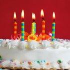 Ideias de bolos para aniversário de 60 anos