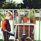 Grandes jardines en espacios pequeños