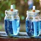 Como fazer luminárias de citronela em potes de conserva