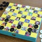 Crea tu propio juego con un tablero de damas personalizado