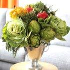 Cómo hacer un arreglo moderno con frutas y verduras