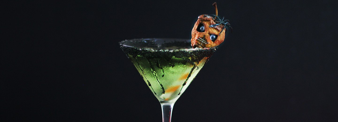 Shrunken Head Apple Martini