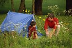 Tent Camping Near the Creation Museum In Kentucky