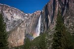 Yosemite Waterfalls in September