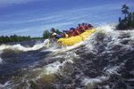 River Rafting on the North Santiam River in Oregon